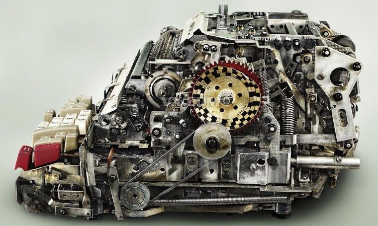 复杂的机械结构动态图